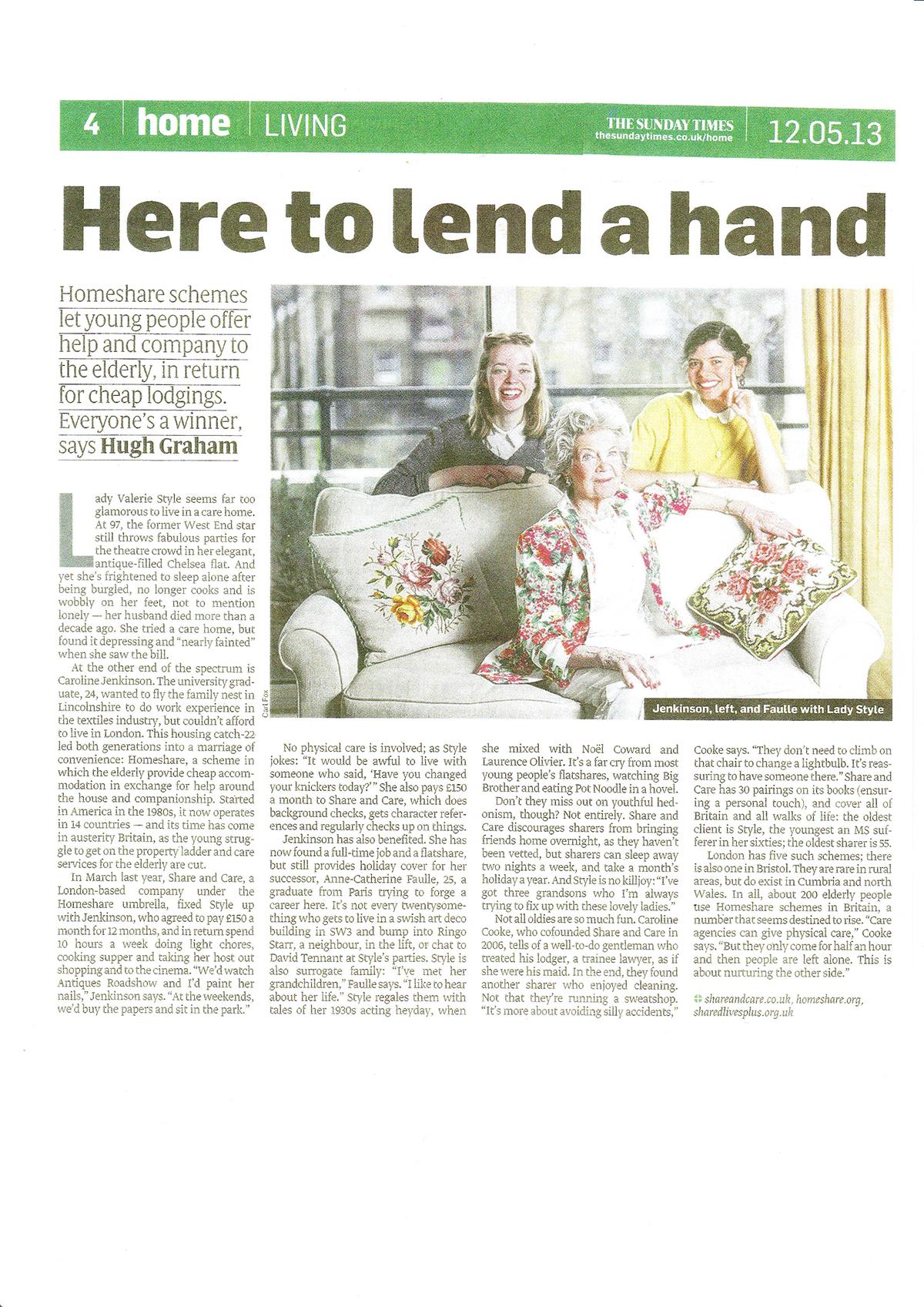Sunday Times May 2013